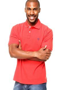 Camisa Polo Manga Curta Mr. Kitsch Basic Vermelha