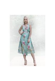 Vestido Fauna Atelier Lily Daisy Ld002 Pistache