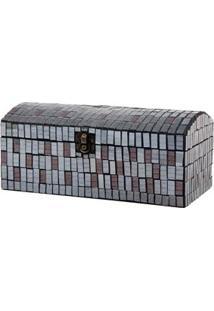 Porta-Joias Mabruk Presentes Mosaico 003-121 – Prata