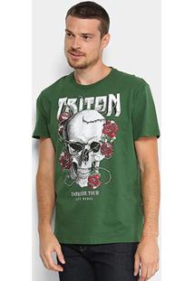 Camiseta Triton Darkside Tour Masculina - Masculino