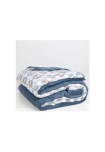 Edredom Casal Altenburg New Confort Azul Marinho U