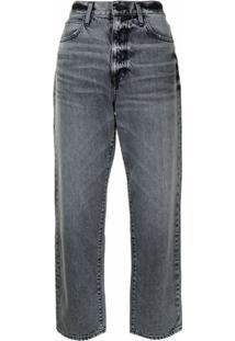 Slvrlake Calça Jeans Reta London - Cinza