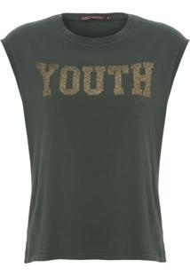 Regata Feminina Youth - Verde