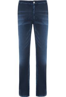 Calça Masculina Straight Lativia - Azul