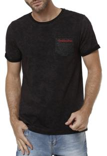 Camiseta Manga Curta Masculina Rock & Soda - Masculino