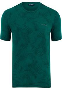 Camiseta Moline Full Print Green Tropical