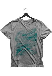 Camiseta Jay Jay Básica O Mar Cinza Mescla Dtg