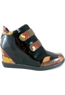 Sneaker Topgrife Couro - Feminino