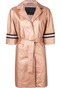 Herno Belted Raincoat - Neutro
