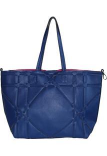 Bolsa Clutch Me Cataratas Shoper Azul