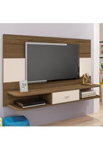 Painel Para Tv Até 50 Polegadas Studio Amêndoa C/Off White - Artely