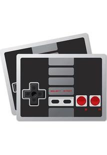 Jogo Americano Joystick Retrô Geek - 2 Peças