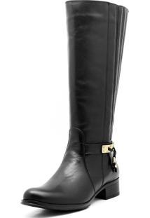 Bota Atron Shoes Montaria Preta