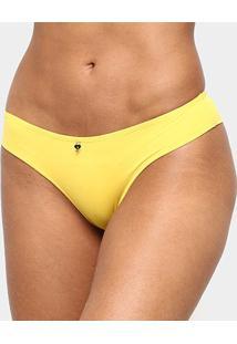 Calcinha Marcyn Básica Colors - Feminino-Amarelo