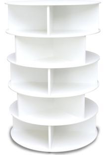 Sapateira Giratória Unisex 1,05M Branca