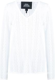 Marc Jacobs Suéter Slim - Branco