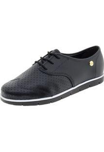 Sapato Feminino Oxford Moleca - 5613304 Preto