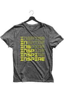 Camiseta Feminina Joss Inspire Chumbo - Kanui