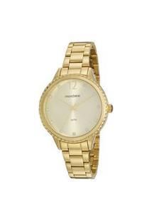 Kit Relógio Feminino Mondaine 99535Lpmvde1K Analógico 5Atm + Semijoia | Mondaine | Dourado | U