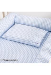 Fronha Windsor- Branca & Azul Pastel- 30X40Cm- 4Biramar