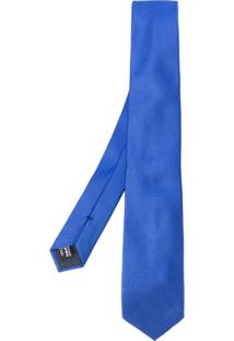 Giorgio Armani Gravata De Seda - Azul