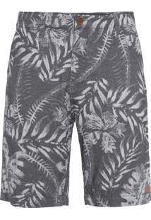 Bermuda Masculina Batik - Cinza