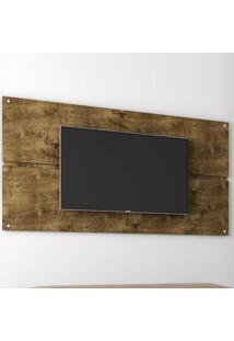 Painel Para Tv Luzon Madeira Rustica - Móveis Bechara