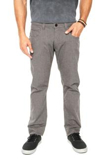 Calça Quiksilver Five Pockets Ocean Dark Grey Cinza