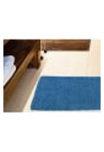 Tapete De Banheiro Micropop - Azul Novo