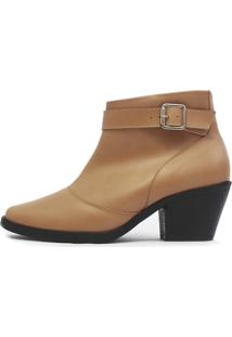 Bota Damannu Shoes Carly Castanho Claro
