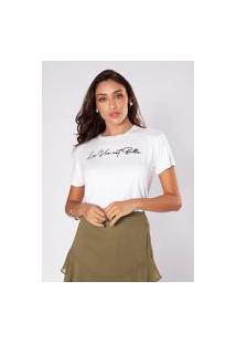 Camiseta Preview La Vie Branco