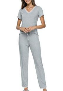 Pijama Feminino Cor Com Amor - Feminino