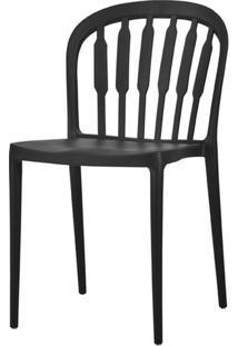 Cadeira Grid Polipropileno Preta - 58155 - Sun House