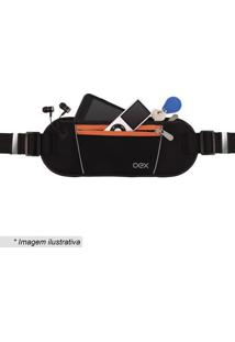 Pochete Sport Move- Preta & Laranja- 10X10Cm- Nenewex