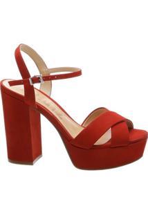 Sandália Meia Pata Tango Red | Schutz