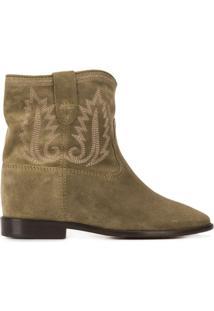 Isabel Marant Ankle Boot Crisi - Verde