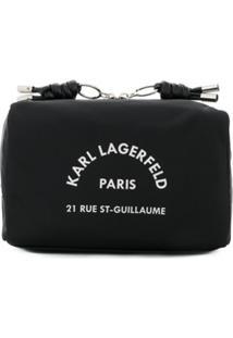 Karl Lagerfeld Necessaire Rue St Guillaume - Preto