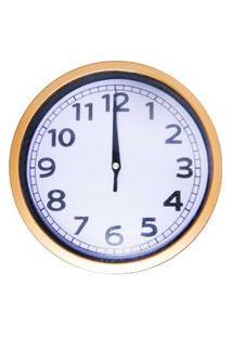 Relógio De Parede 20X20Cm Silencioso