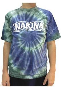 Camiseta Narina Tie Dye Masculina - Masculino