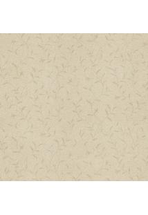 Papel De Parede Ramos- Bege- 53X1000Cm- Evoluxevolux