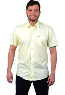 Camisa Off Wear Básica Amarelo