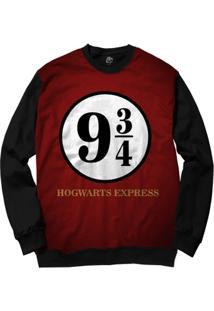 Blusa Bsc Hogwarts Express Full Print - Masculino