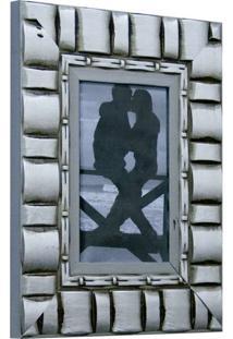 Porta Retrato De Mesa Para Foto Ii 10X15 Cm Prata