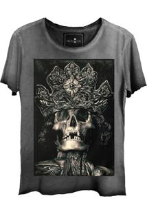 Camiseta Skull Lab King Old Grafite