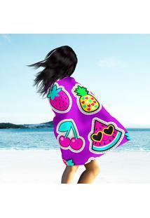Toalha De Praia / Banho Colagem Cute