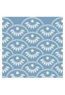 Papel De Parede Adesivo Abstrato Azul 0188 Rolo 0,58X3M