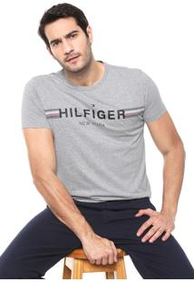 Camiseta Tommy Hilfiger New York Cinza