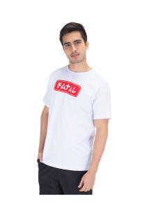 Camiseta Fatal Estampada 22132 - Masculina - Branco