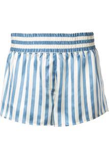 Morgan Lane Short De Pijama Corey Listrada - Azul