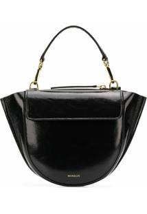 Wandler Hortensia Mini Shoulder Bag - Preto